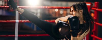 Pantalons de Kick-Boxing