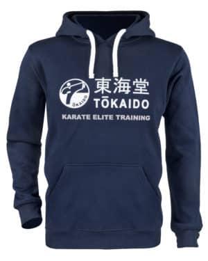 SWEAT-SHIRT A CAPUCHE KARATE TOKAIDO ATHLETIC-1