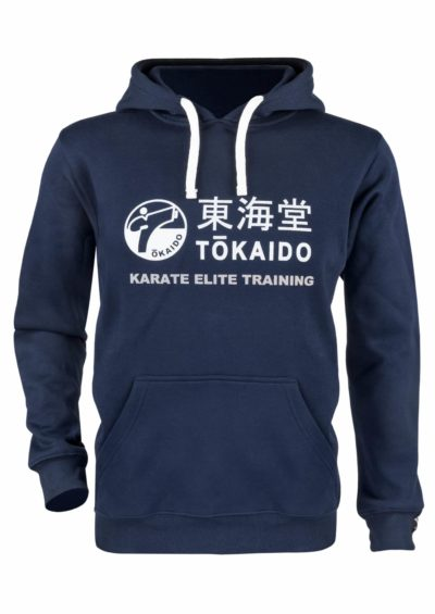 SWEAT-SHIRT A CAPUCHE KARATE TOKAIDO ATHLETIC, DAMES-1