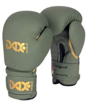 Gants de boxe DAX EDITION, VERT OLIVE-1