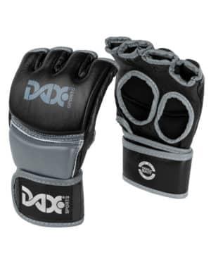 GANTS DE MMA DAX, PRO LINE, NOIR & GRIS-1