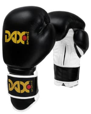 GANTS DE BOXE DAX TT PRO, NOIR-1