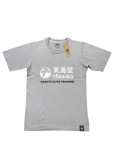 T-SHIRT KARATE TOKAIDO ATHLETIC - Gris clair-1