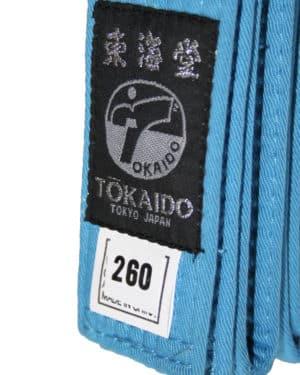 CEINTURE DE COMPETITION KARATE TOKAIDO BLEUE - WKF-1