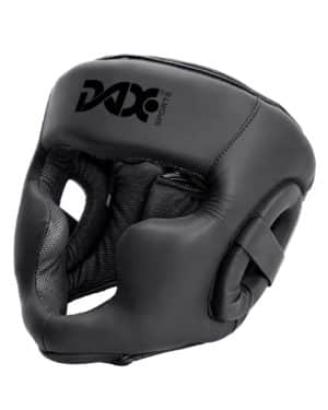 CASQUE DE BOXE SPARRING BLACK LINE-1