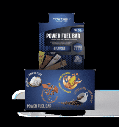 BARRE PROTEINEE CAFE 24*50g-1