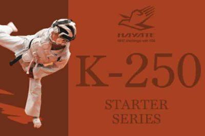 KARATEGI HAYATE K-250 - SERIE STARTER - KUMITE&KATA-1
