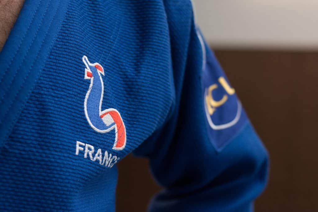 Judogi de compétition bleu