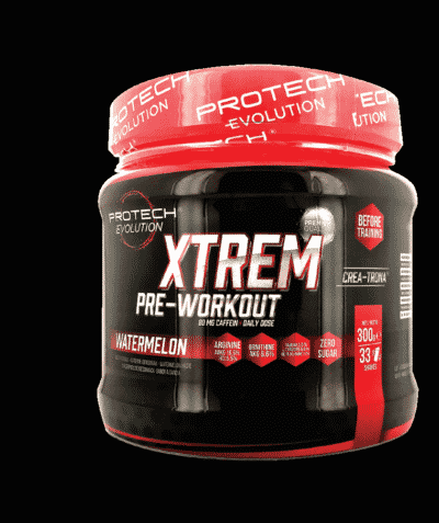 Xtrem Pre Workout 300g -0% sucre - PASTEQUE-1