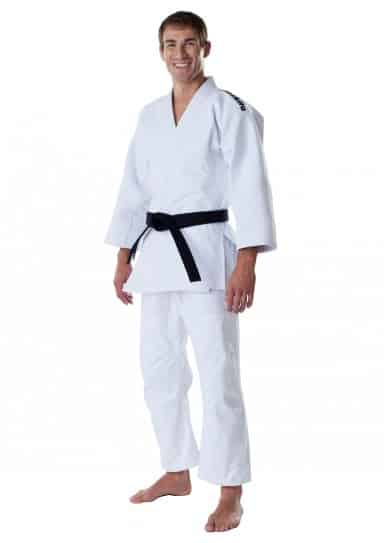 JUDOGI MOSKITO PLUS COMPETITION BLANC SANS BRODERIE-1