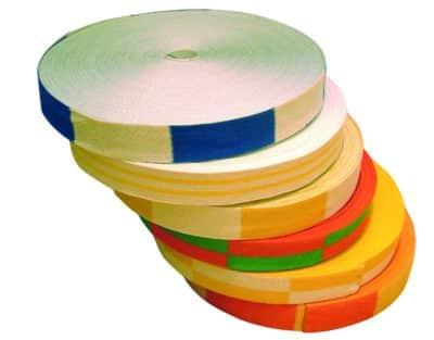CEINTURE JAUNE/ORANGE - ROULEAU DE 50M -1