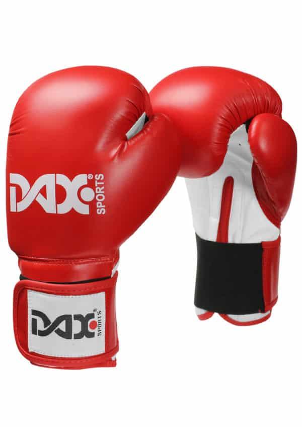 GANTS DE BOXE DAX JUNIOR ROUGE & BLANC-2