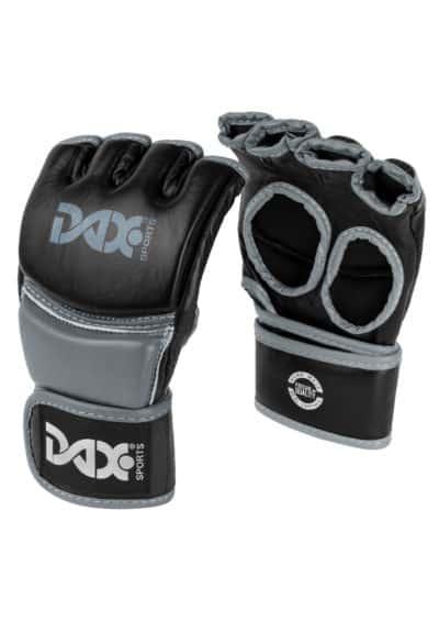 GANTS DE MMA DAX PRO LINE NOIR & GRIS-1