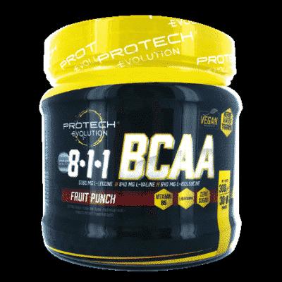 BCAA - 8:1:1 + GLUTAMINE - FRUIT PUNCH 300g-1