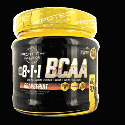 BCAA- 8:1.1 + GLUTAMINE - FRUITS ROUGES & MENTHE 300g-1