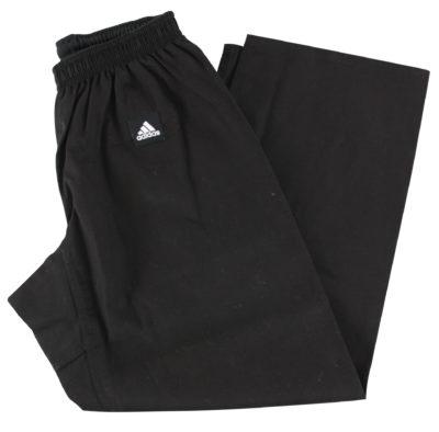 Pantalon élastiqué noir Adidas-1