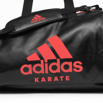Sac de sport ADIDAS 2 en 1 - Noir/Rouge-1