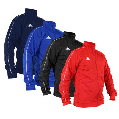 VESTE DE TRAINING ADIDAS CORE MARTIAL ARTS KIDS BLEU/BLANC-1