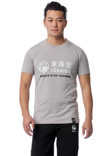 T-SHIRT KARATE TOKAIDO ATHLETIC - Gris clair-2