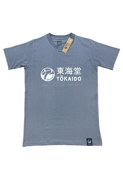 T-SHIRT KARATE TOKAIDO ATHLETIC - Gris foncé-1