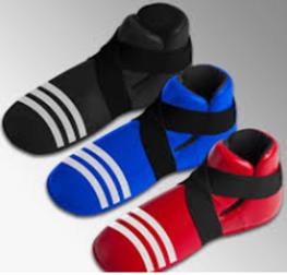 Protège pieds full contact - Noir-1