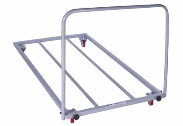 Chariot à tapis avec base en acier ajouré-1