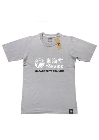 T-SHIRT KARATE TOKAIDO ATHLETIC - Gris clair-1