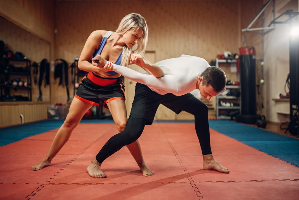 Technique de Self-Defense Krav Maga