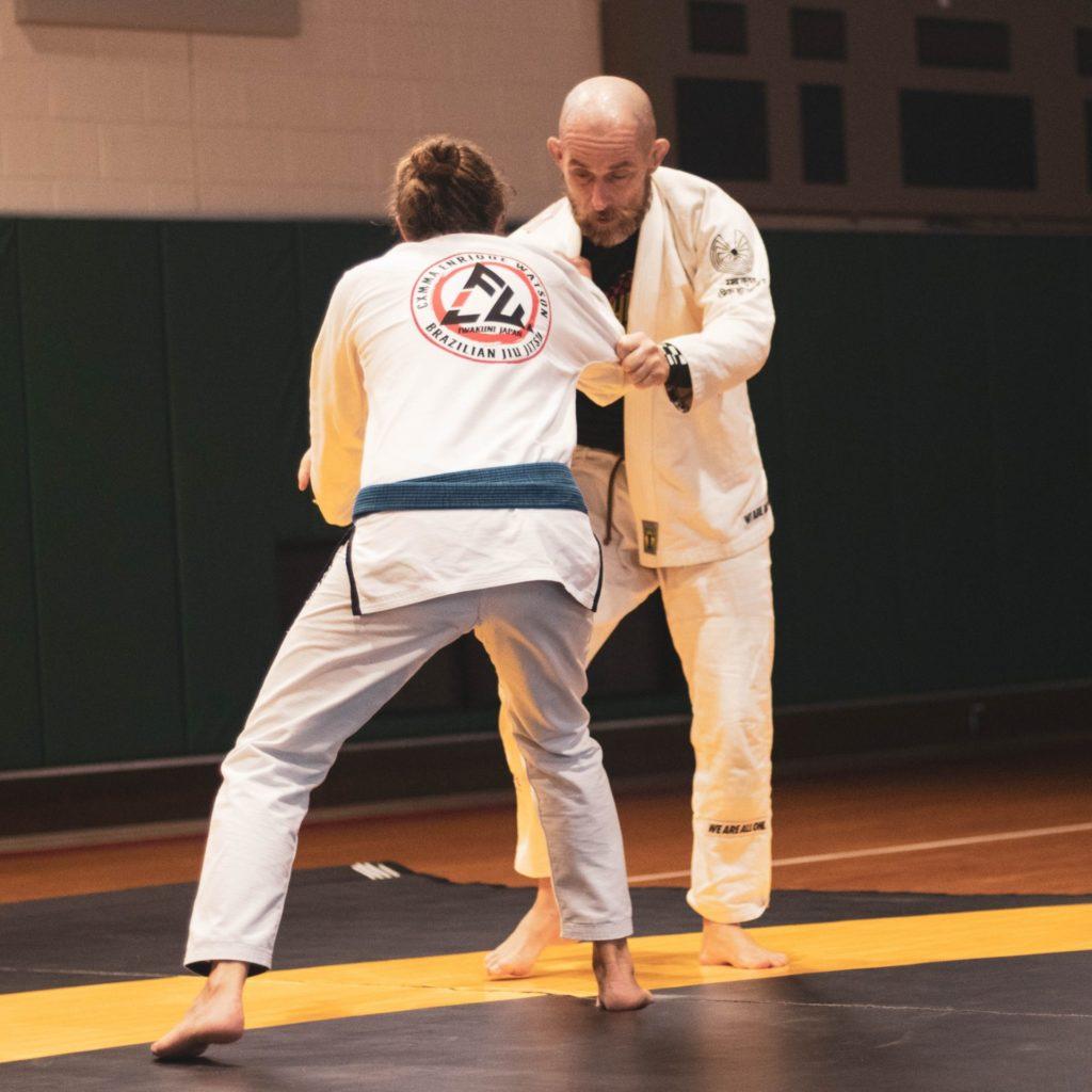 Tatami pour le Jiu-Jitsu