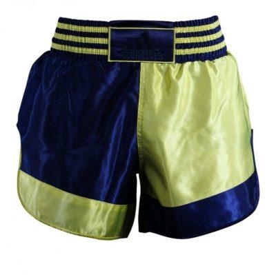 Short adidas Thai et Kickboxing Jaune/Bleu-1