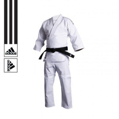 Judogi Adidas J500 Training Blanc-1